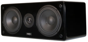 MJ Acoustics,  XENO XC-1,  Centre Speaker, Piano Black