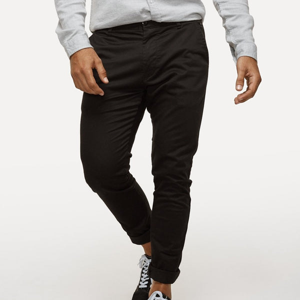 Industrie - The Cuba Chino Pant - Black