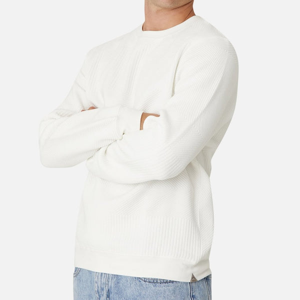 Industrie - The Robinson Sweat OFF WHITE