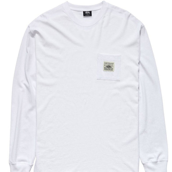Stussy - Worldwide LS Tee WHITE