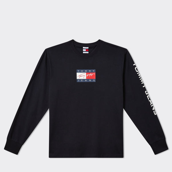 TOMMY JEANS - TJ Street Archives Long Sleeve Tee 9 Desert Sky