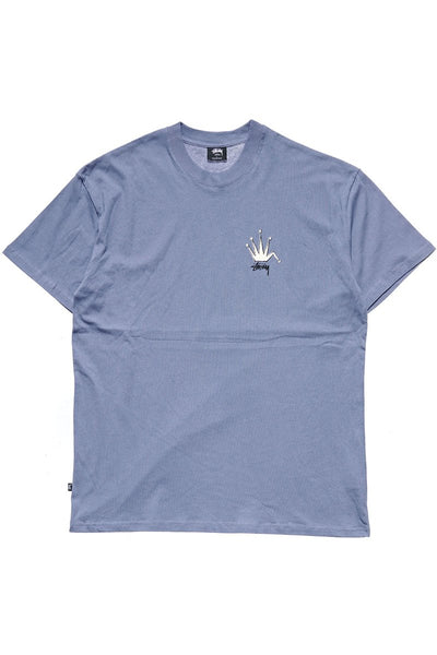 Stussy - Crown SS Tee DUSTY BLUE