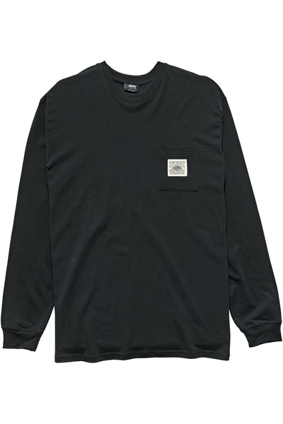 Stussy - Worldwide LS Tee BLACK