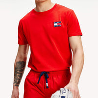 Tommy Hilfiger Badged Organic Cotton T-Shirt