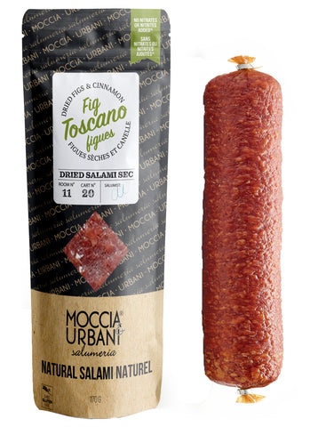 Fig Toscano Salami - California Figs & Cinnamon
