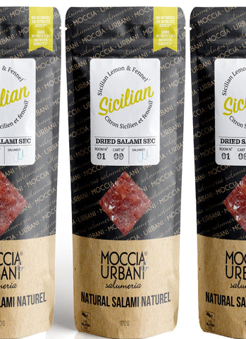 Sicilian Lemon Salami - 3 Pack