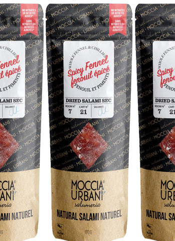 Spicy Fennel Salami - 3 Pack