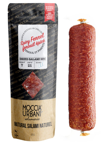 Spicy Fennel Salami