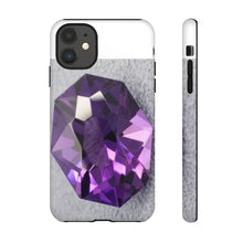 Load image into Gallery viewer, Amethyst Cell Phone Case 1