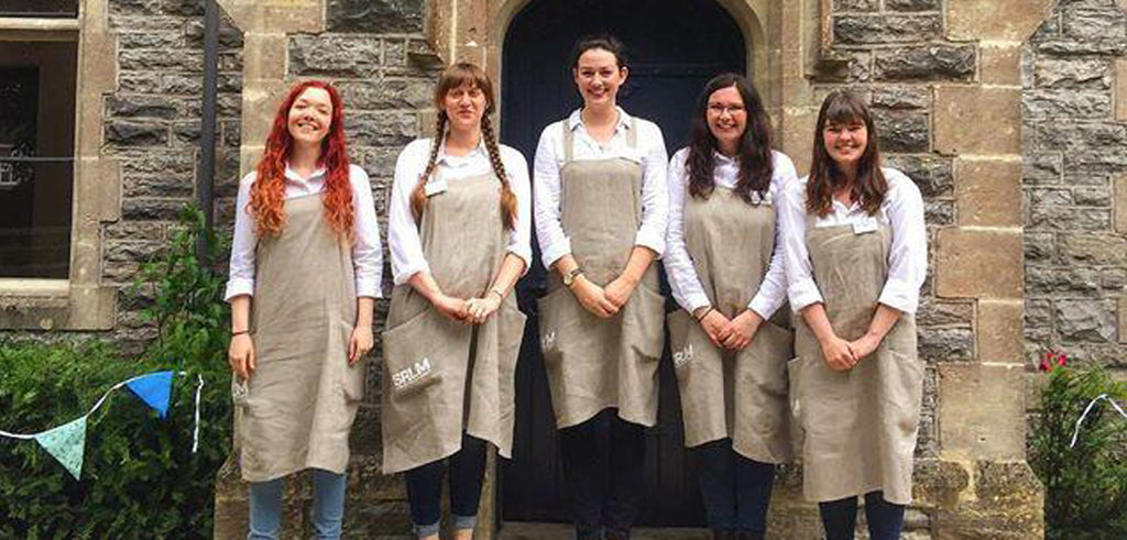 Linen Aprons For Somerset Rural Life Museum