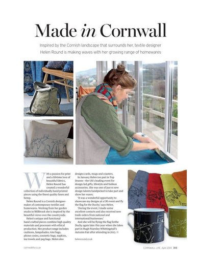 Cornwall Life April 2014