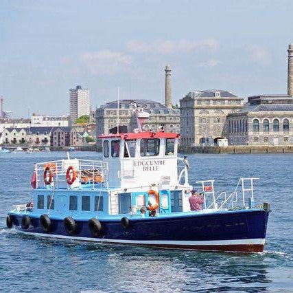 Cremyll Ferry with Royal William Yard in Background