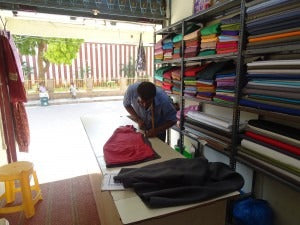Celebrating Hand Made India tailor