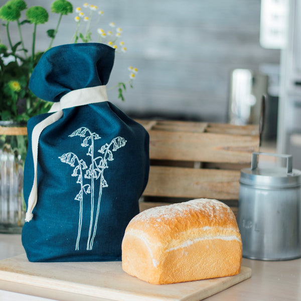 Bluebell Bread Bag from the Bluebell Collection by Helen Round