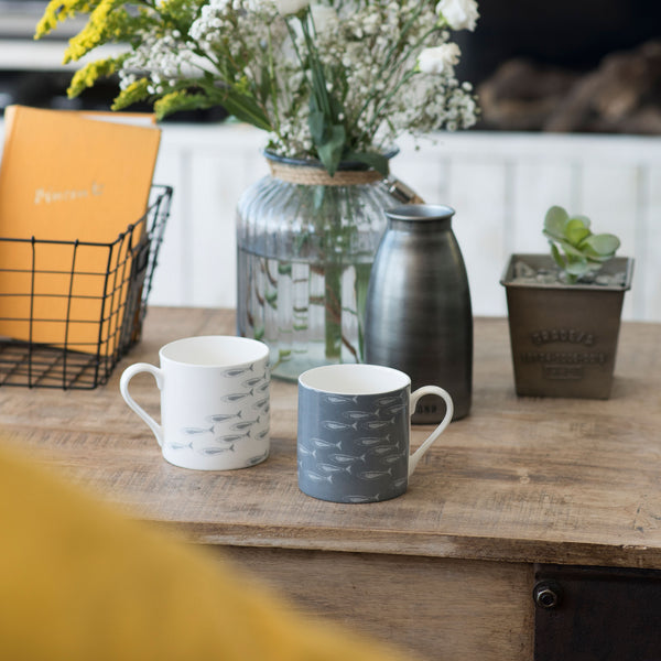 Quayside Collection Mugs with Fish Shoals