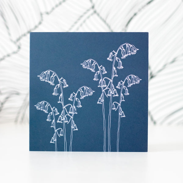 Bluebell Greetings Card from the Bluebell Collection by Helen Round