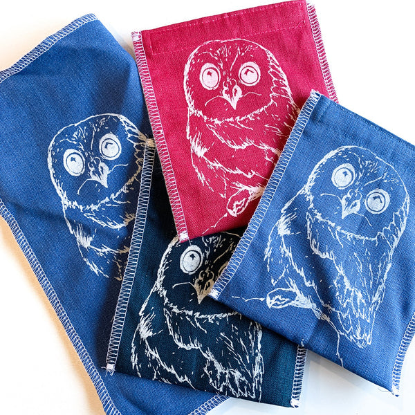 Owl Design on Sandwich Wrap and Snack Bag