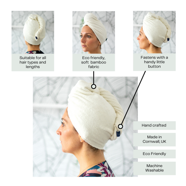 How to Use a Hair Wrap Towel