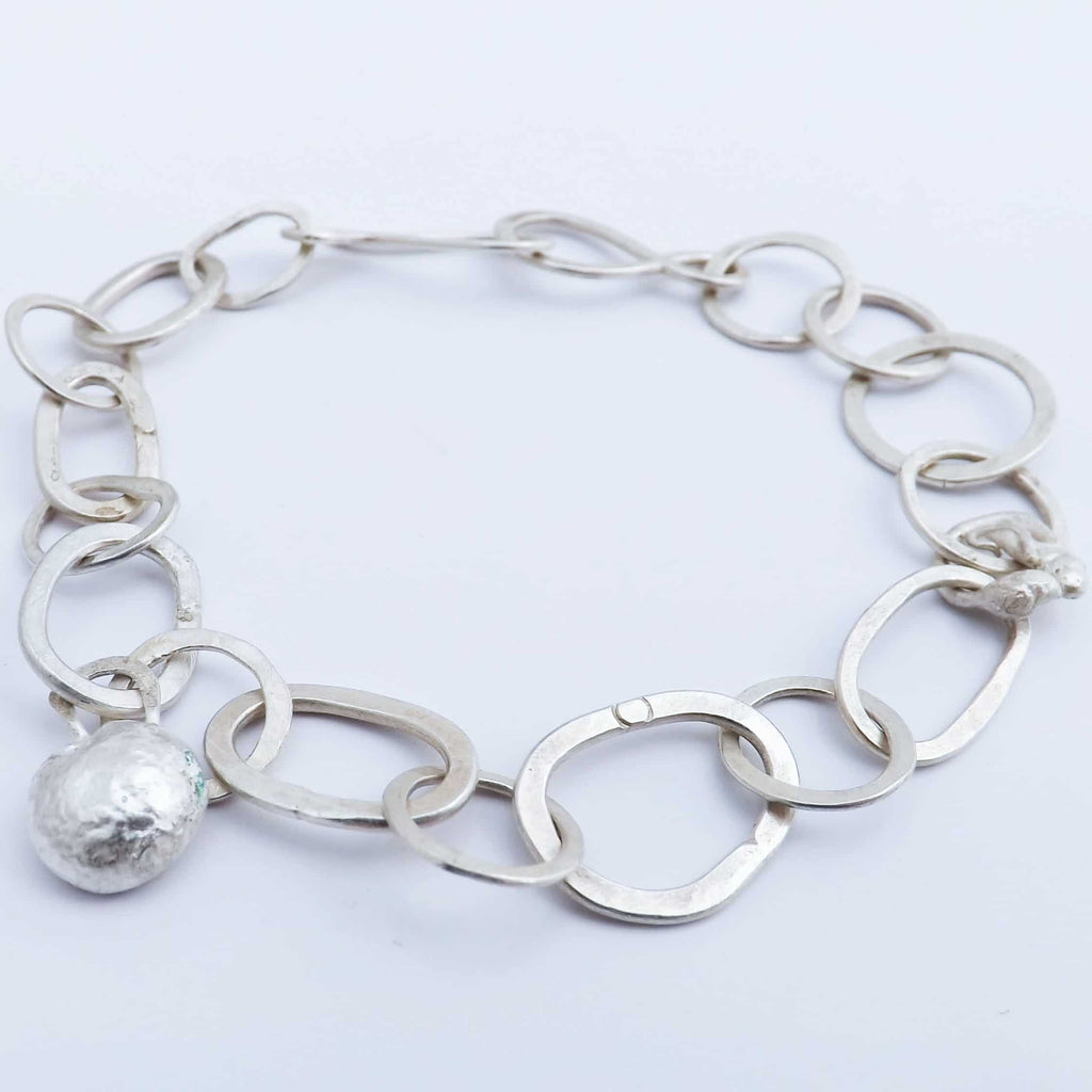 Eco silver jewellery workshop bangles