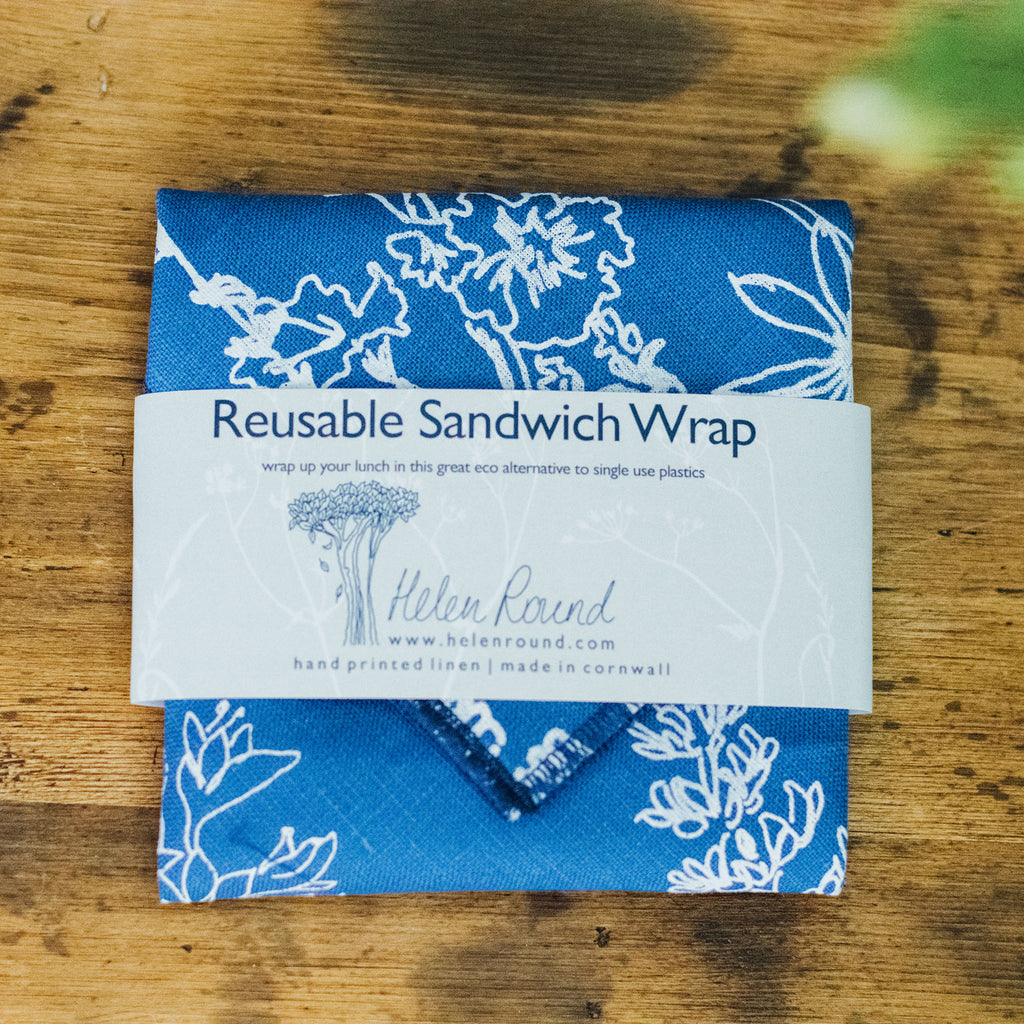 reusable-sandwich-wrap-indigo-blue