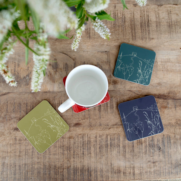 Rame Head coasters set of four