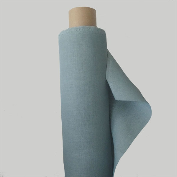Duck Egg Blue Linen Fabric