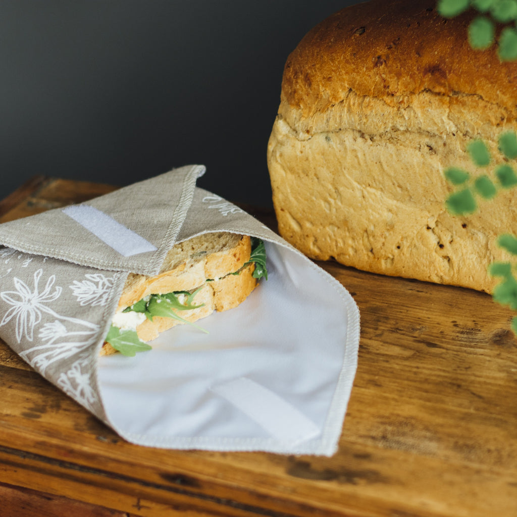 Waterproof Reusable Sandwich Wrap bundle picnics