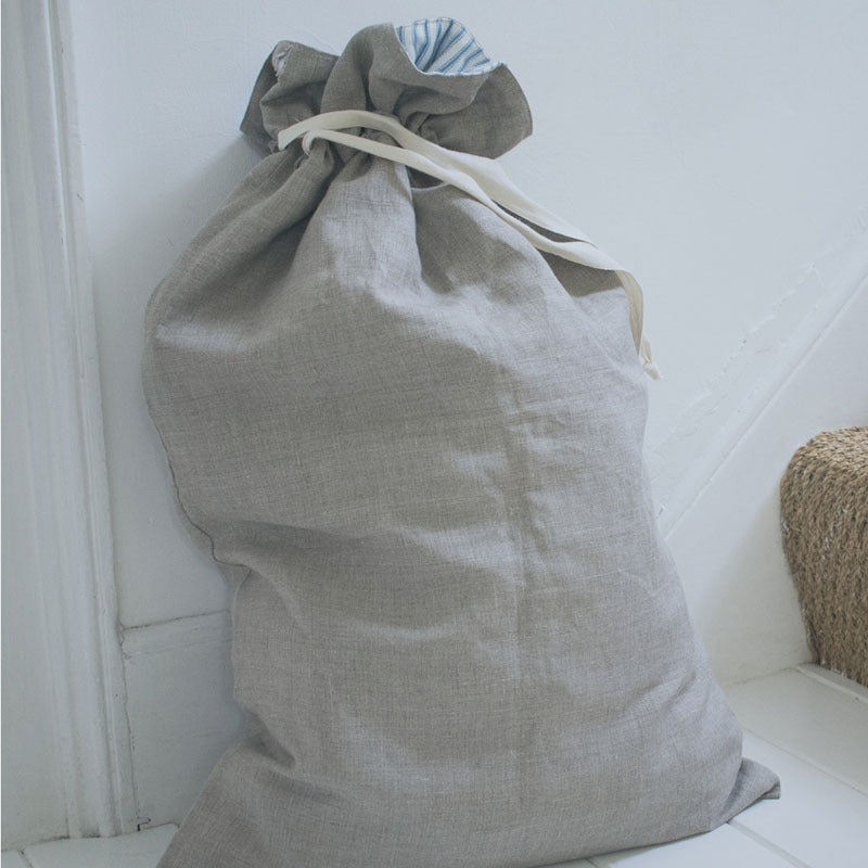 linen laundry bag free pattern
