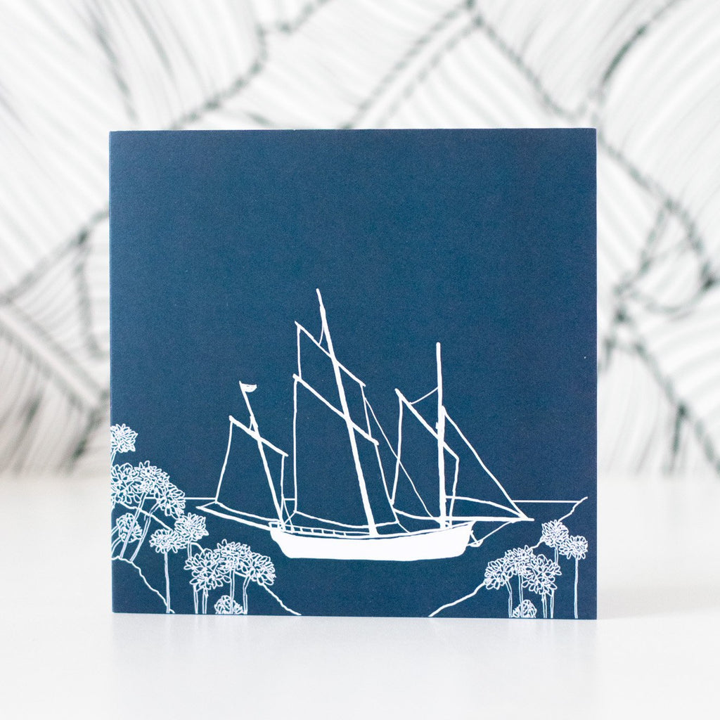 Coastal Greetings Card