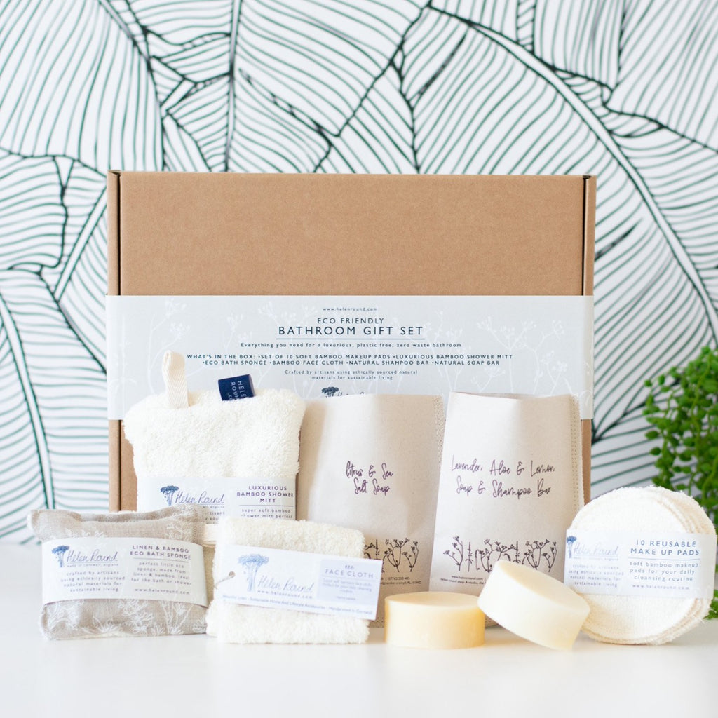 Eco Bathroom Gift Set and box