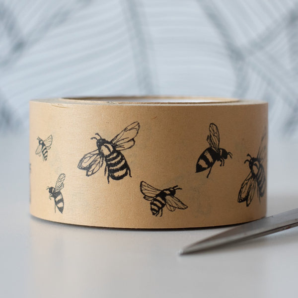 Recyclable Packing Tape Bee Design Helen Round