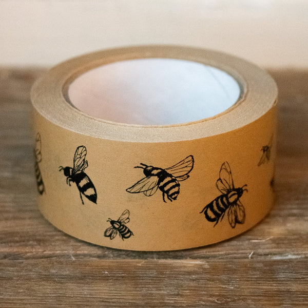 Recyclable Bee Packing Tape from the Honey Bee Collection