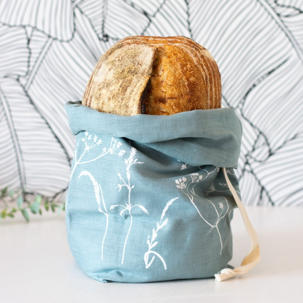 Duck Egg Hedgerow Bread Bag