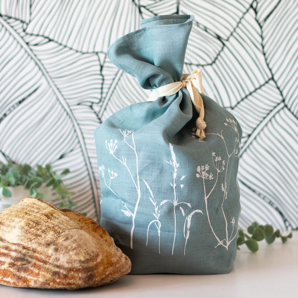 Bread Bag in Duck Egg Blue