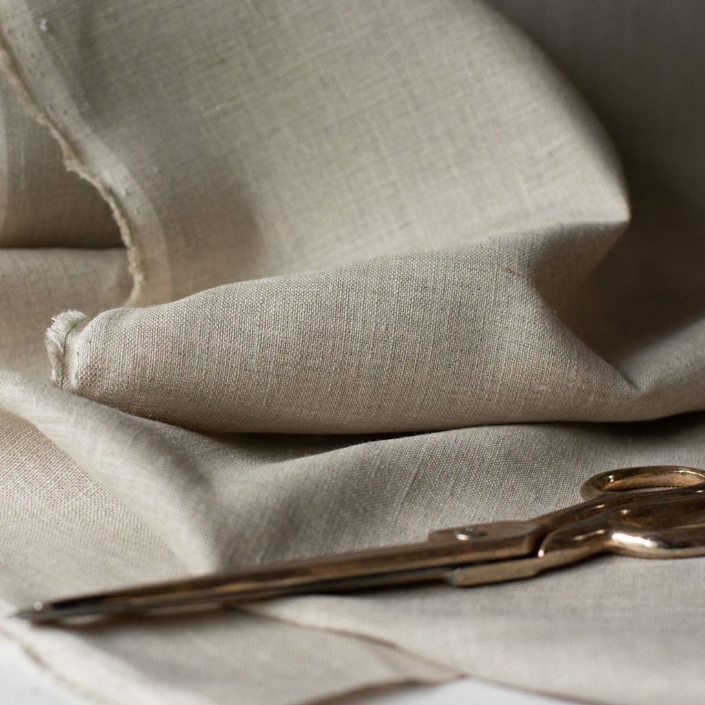 Pure Natural Linen Fabric