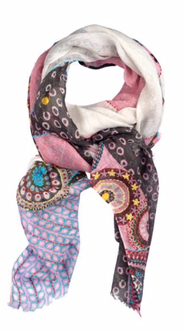 Foulard Storiatipic Doris Rose