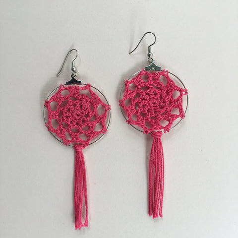 Micro Crochet Earrings