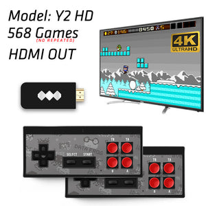 RetroGamer™ 4K Edition | HDMI gaming set met 550+ legendarische games