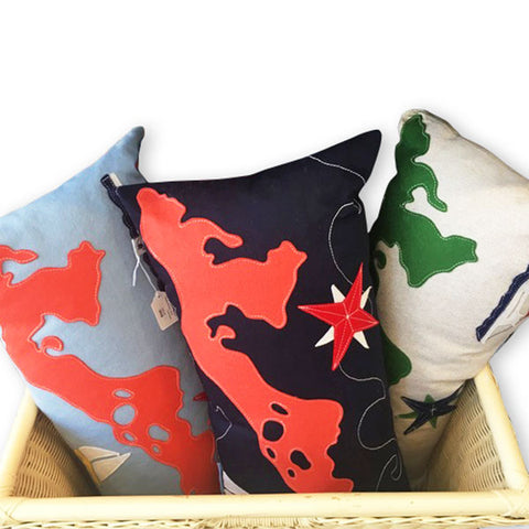Hand Sewn Pillows by Cheeky Monkey Home