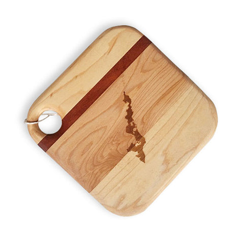 Etched Soundview Millworks Cheese Board