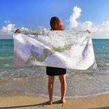 FI Beach Towel