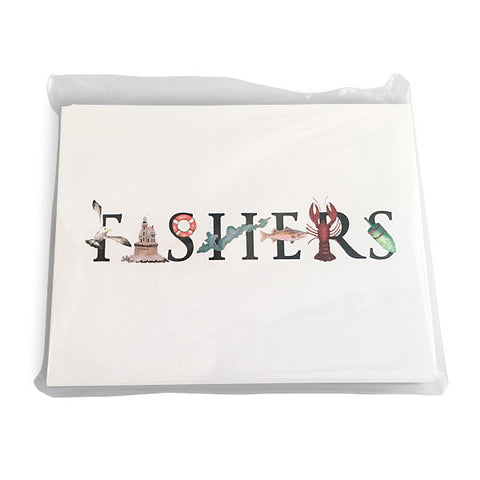 "Tina Labadini ""FISHERS"" Notecards"