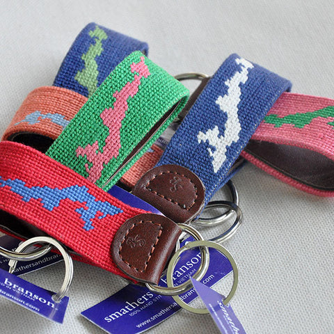 Needlepoint FI Key Chain