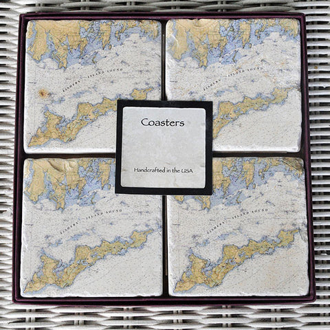 Screencraft Marble Coasters