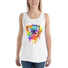 Load image into Gallery viewer, Butterfly - Multi - Unisex Tank Top