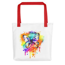 Load image into Gallery viewer, Butterfly Tote bag