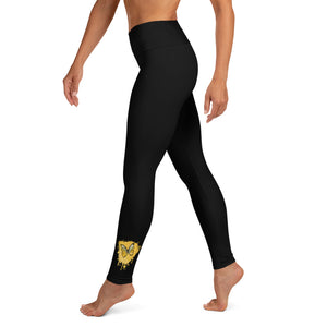 Butterfly - Multi - Yoga Leggings