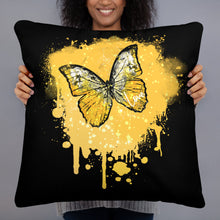 Load image into Gallery viewer, Butterfly Golden - Basic Pillow