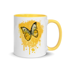 Load image into Gallery viewer, Golden Butterfly  - Mug