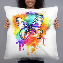 Load image into Gallery viewer, Butterfly Multi Pillow - White